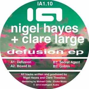 Nigel Hayes & Clare Large - Defusion EP