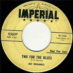 Bo Rhambo - Two For The Blues / With The Blues In My Heart
