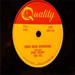 Ginny Wright, Tom Tall - Boom Boom Boomerang / Out Of Line