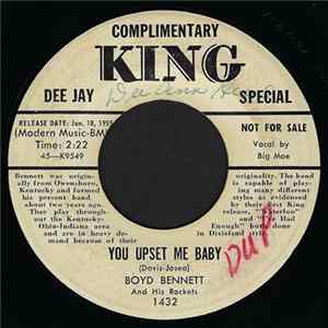 Boyd Bennett And His Rockets - You Upset Me Baby / Poison Ivy